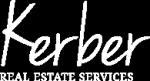 Kerber Real Estate Services logo reverse